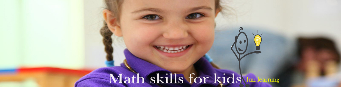 Math skills for kids